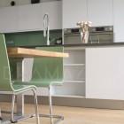 Povrchová úprava kuchyňské linky - lak, vysoký lesk