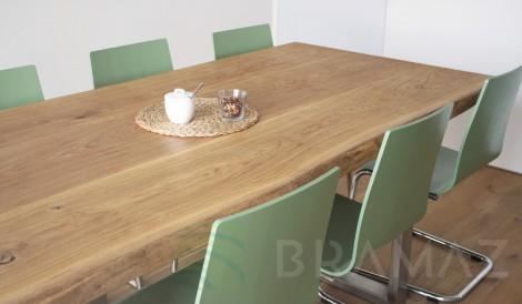 Plát jídelního stolu - masiv dub
